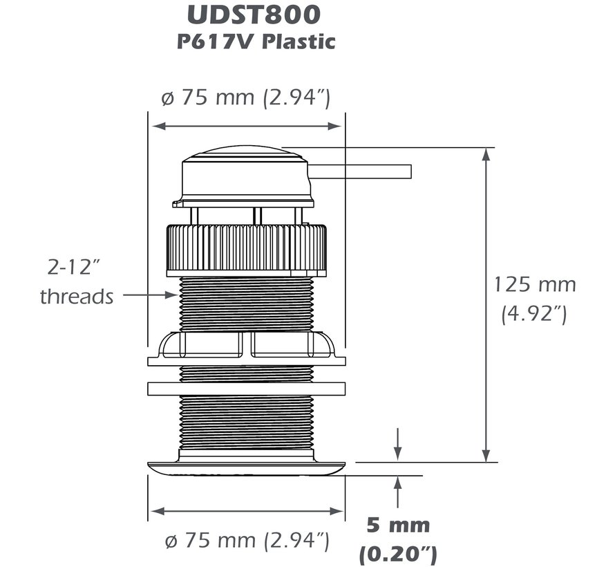 UDST800 Ultrasonic Smart Sensor