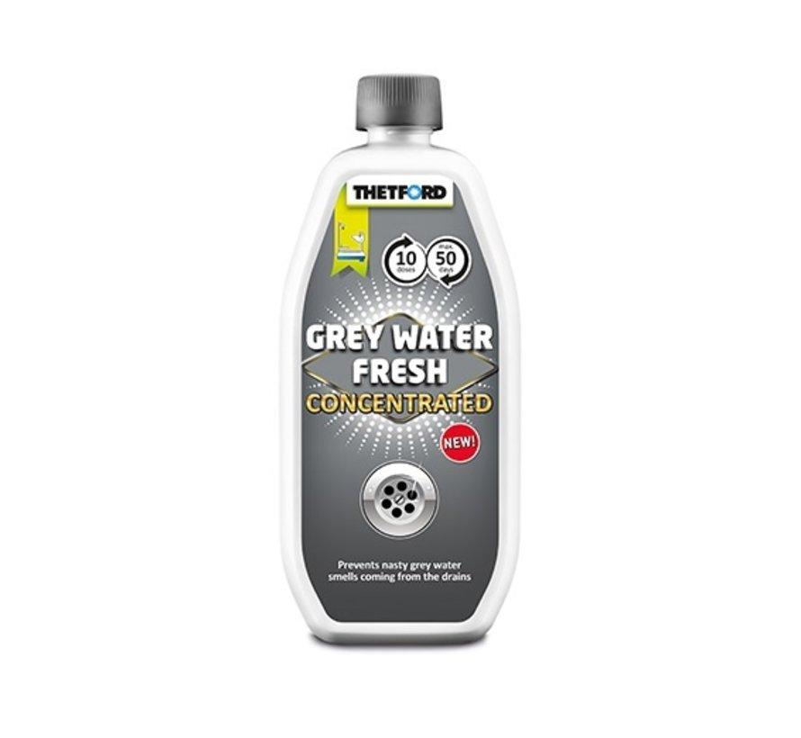 grijs water concentraat