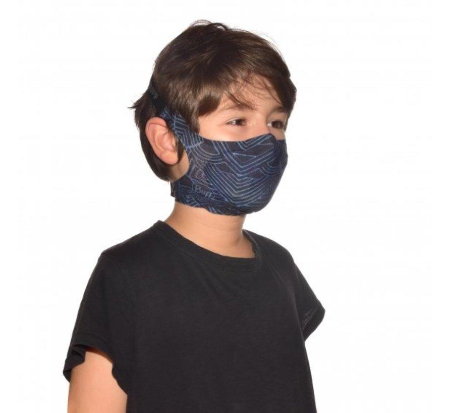Child Face Mask Bawe Black - Mondmasker