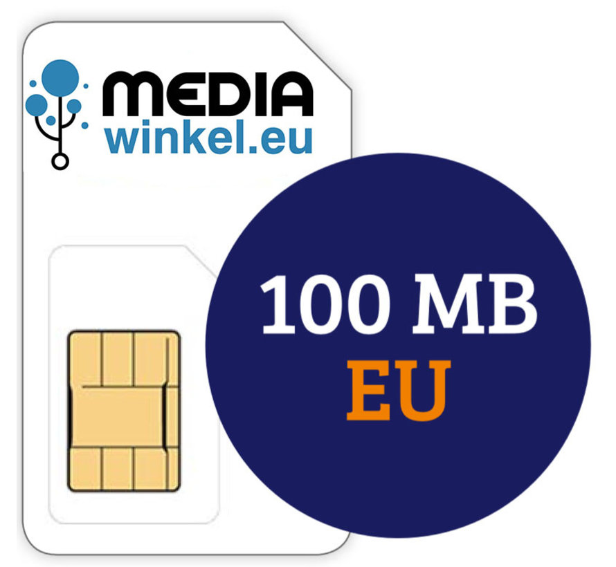 Prepaid 100MB EU