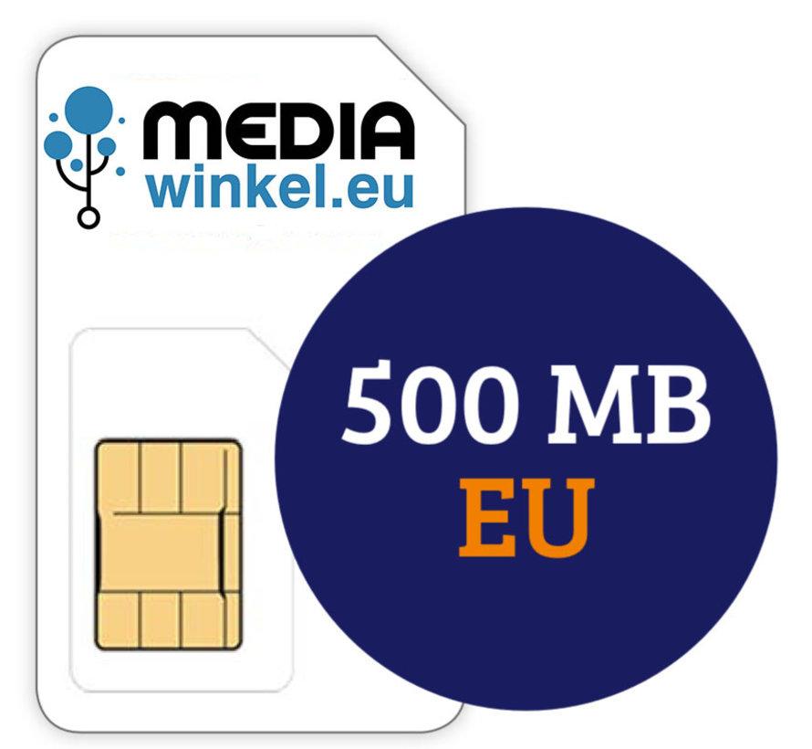 Prepaid 500MB EU