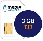 Mediawinkel Prepaid 3 GB EU
