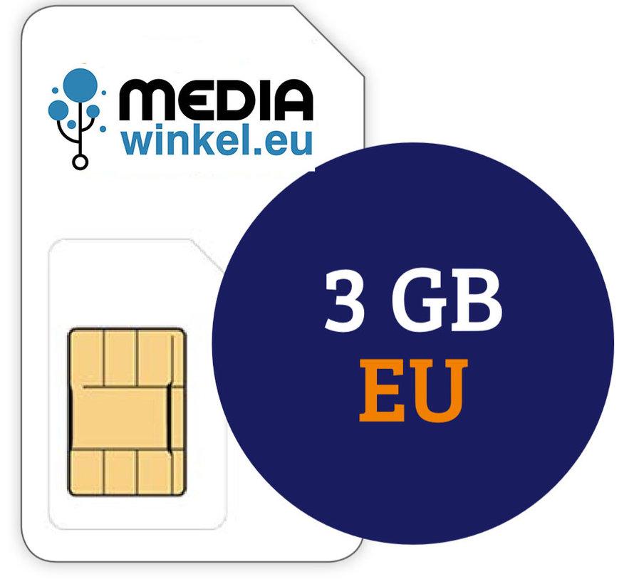 Prepaid 3 GB EU