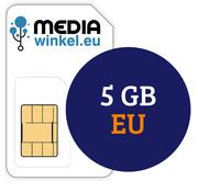 Mediawinkel Prepaid 5 GB EU