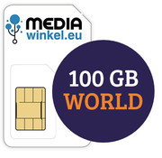 Mediawinkel Prepaid 100GB World