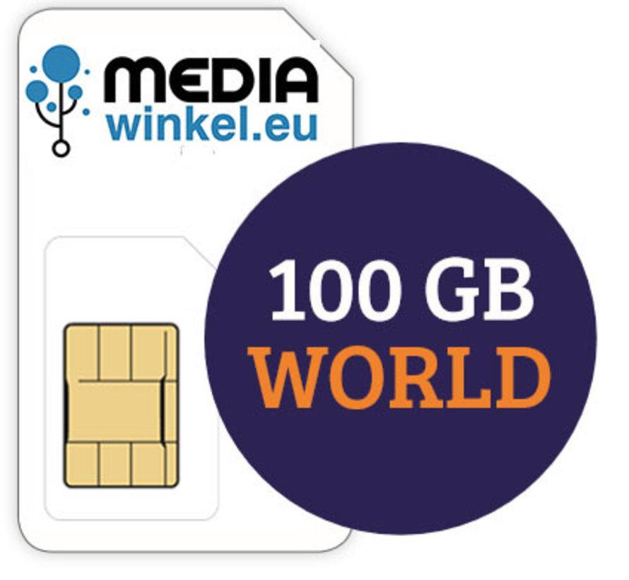Prepaid 100GB World