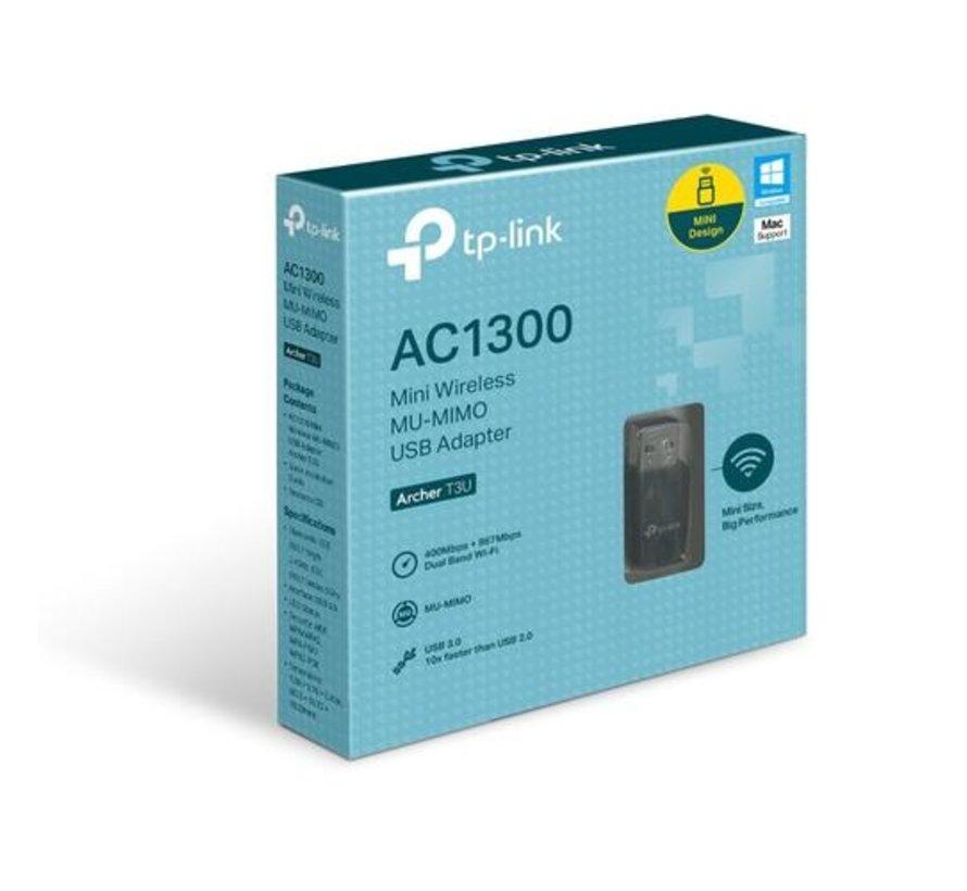 USB WiFi ontvanger, 1300 Mbps