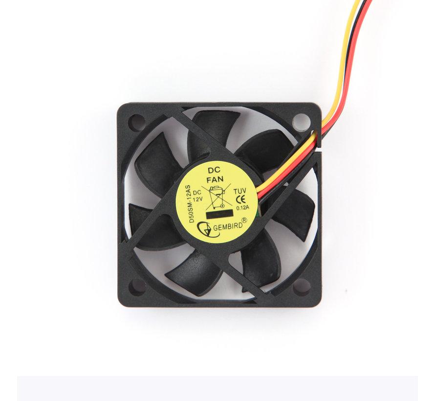 Ventilator voor de voeding, 80x80x25mm