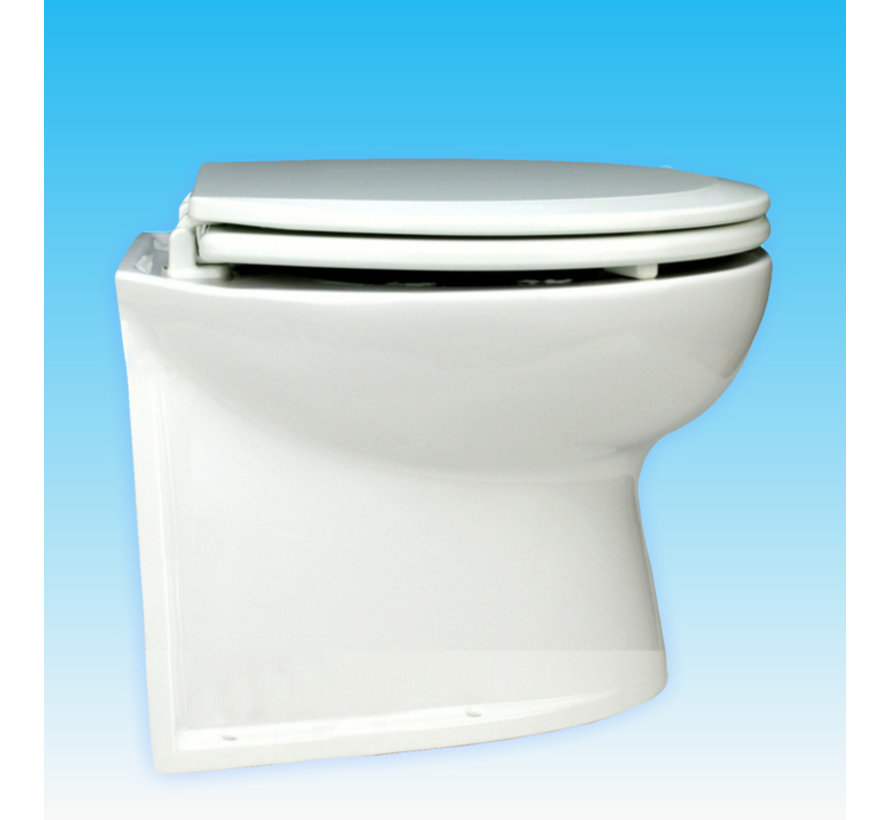 """De Luxe 14"""" elektr. toilet"""