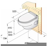 Vetus HATO elektrisch toilet