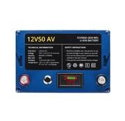 rebelcell 12V50 AV li-ion accu (634 Wh)