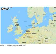 C-Map Benelux binnenland en kust M-EN-Y216-MS