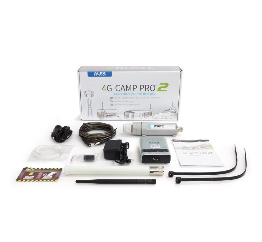 4G Camp Pro2+ EUv1 Set