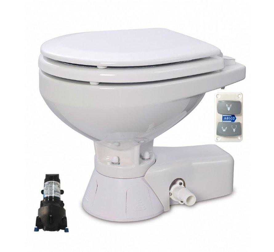Quiet Flush Stil Compact elektr. toilet