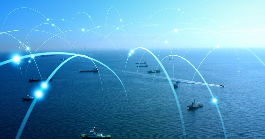 Internet connectiviteit op zee?