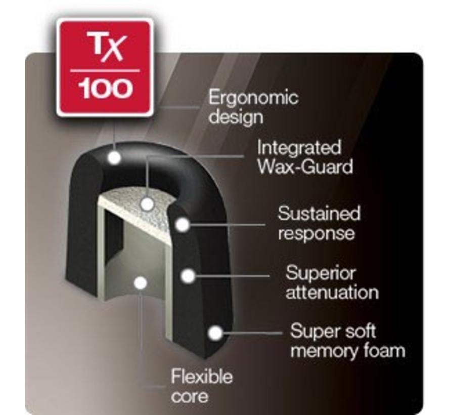 Wax-Guard Earphone Tips TX 100