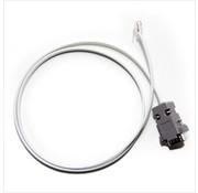 HCP RS232 4P4C kabel (RJ11 naar DB9)