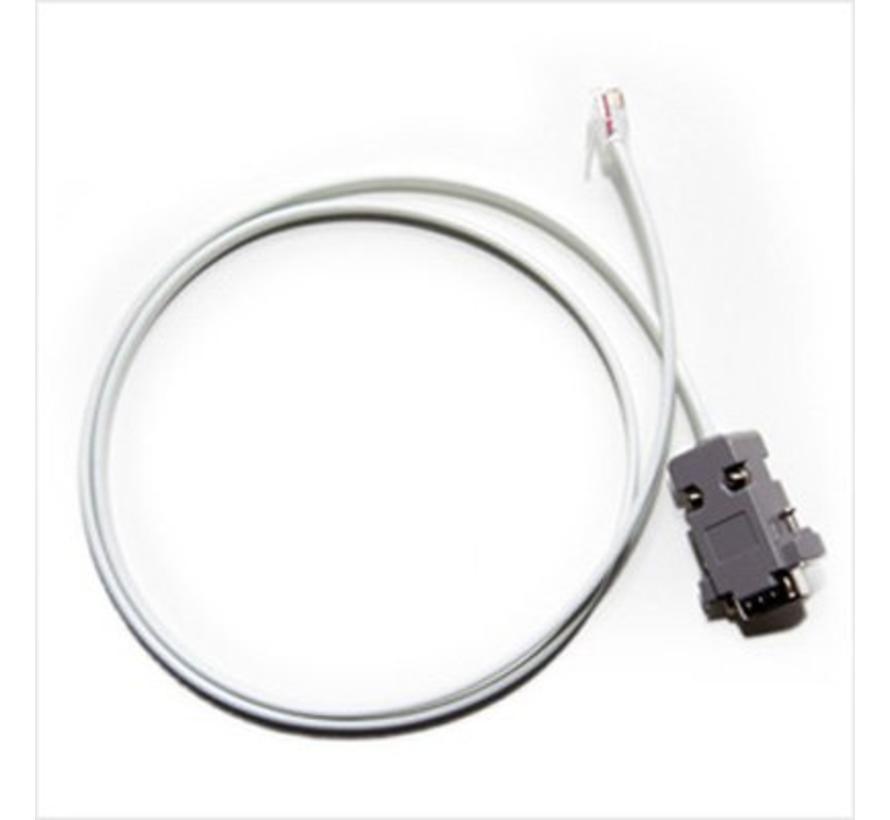 RS232 4P4C kabel (RJ11 naar DB9)
