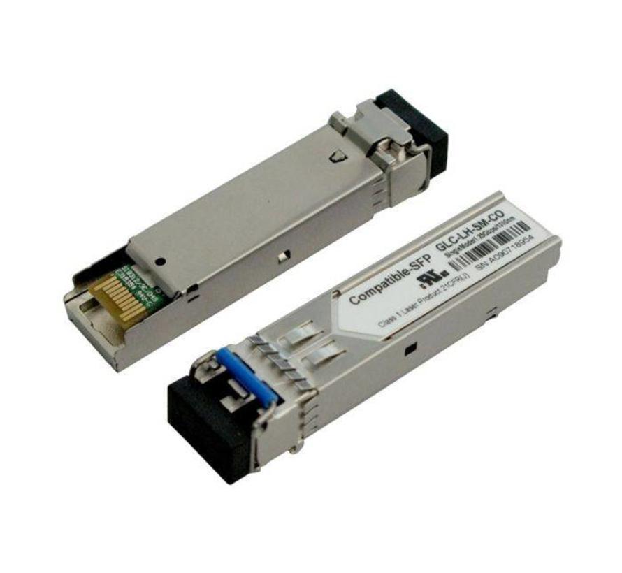 GBIC-Mini glasvezel SFP-zend,-ontvanger module, SFP, 1000, LX/LC, compatible met HP