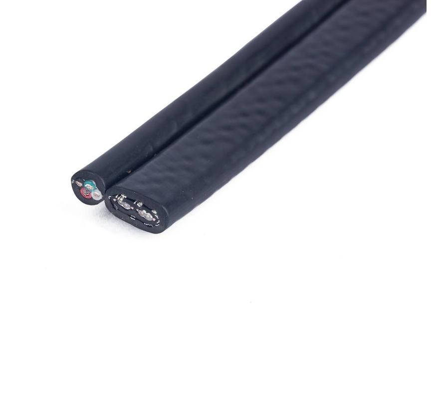 1 meter eSATAp naar eSATA/Mini USB Y-kabel