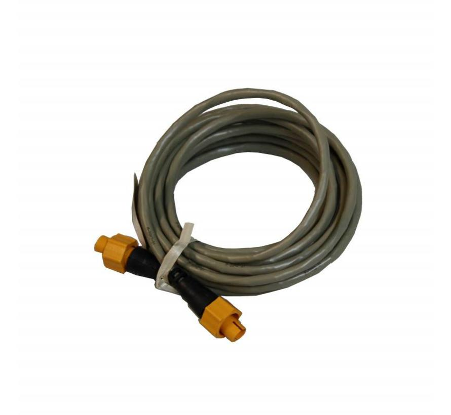 Ethernet cable yellow 5 Pin 7.7 m (25 ft)