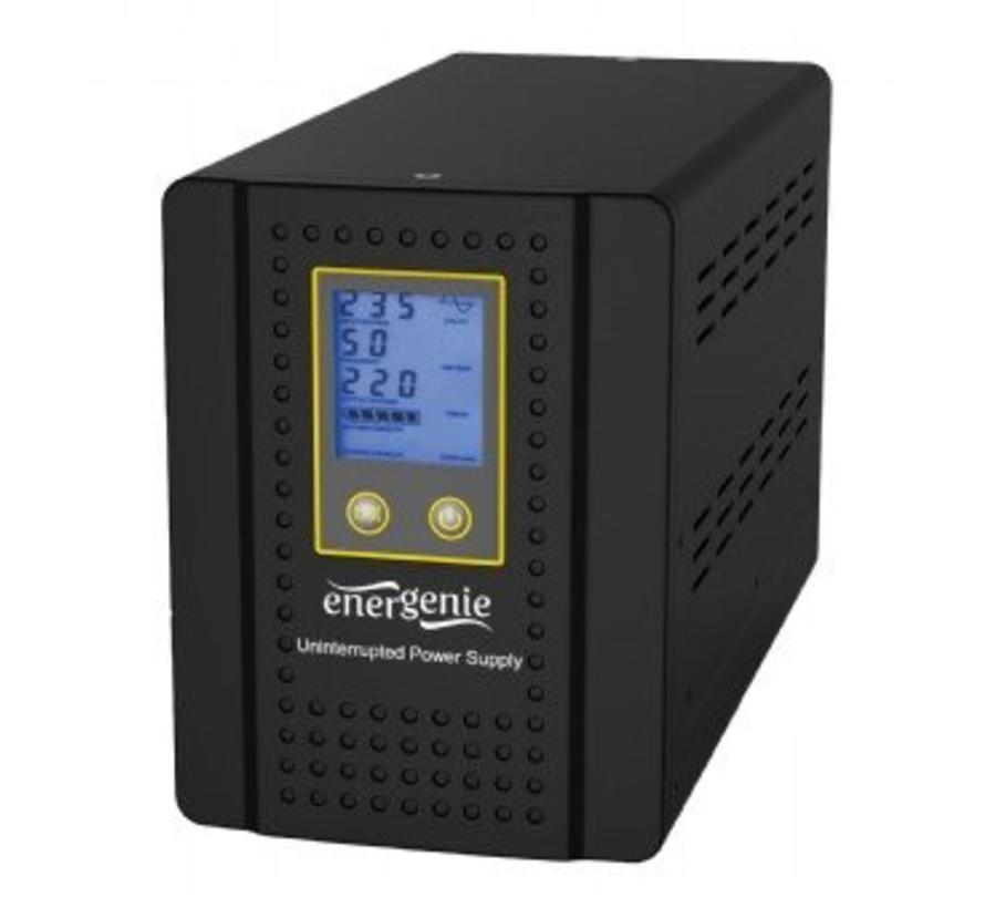 """Omvormer met AVR en batterijmanagementfunctie """"Home series"""", 800 VA"""