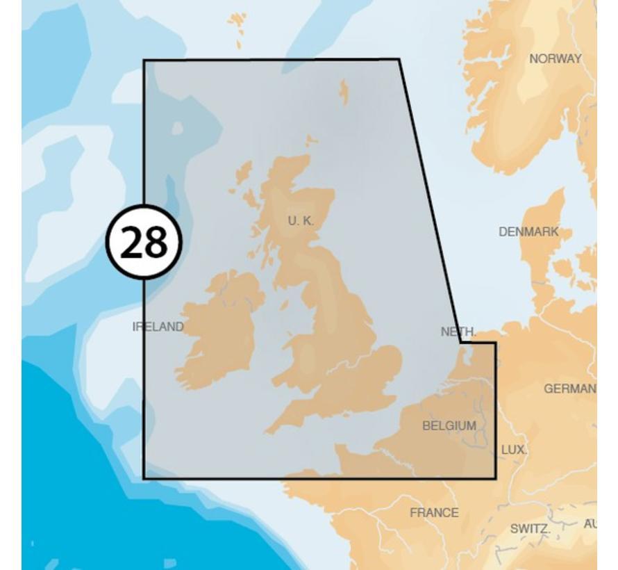 Engeland en Ierland MSD/28P+