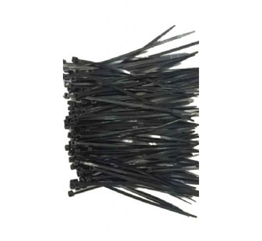 Nylon tiewraps 250mm x 3,6 mm