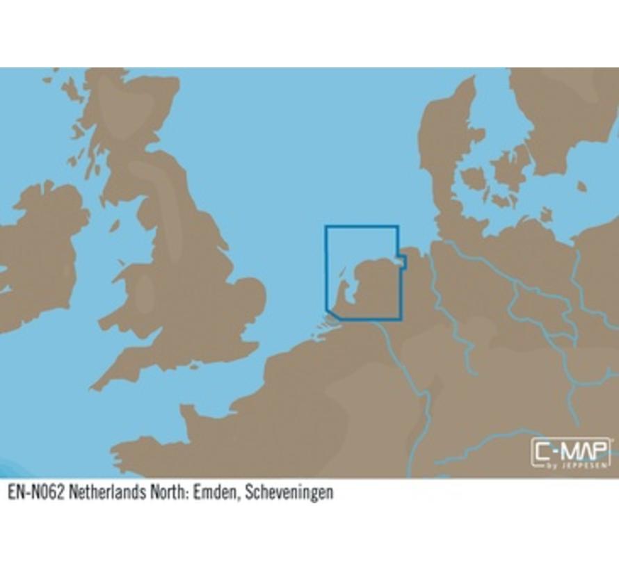 Noord Nederland; Emden, Scheveningen