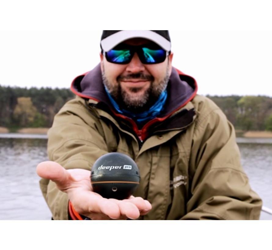 Pro+ fishfinder met WiFi en GPS