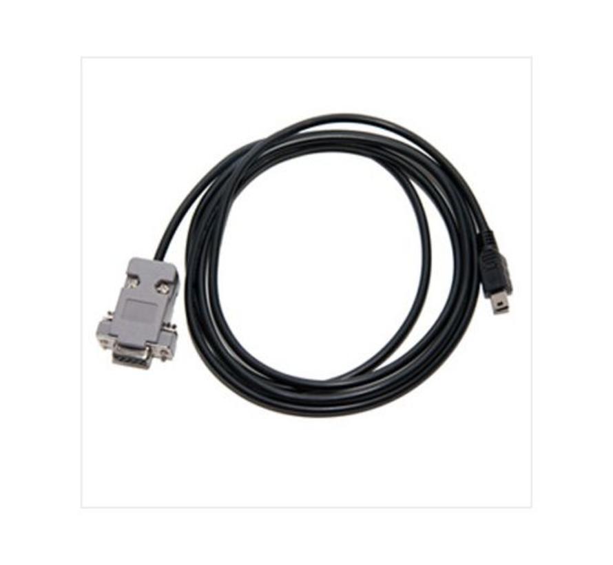 RS232 kabel (mini USB naar DB9F)