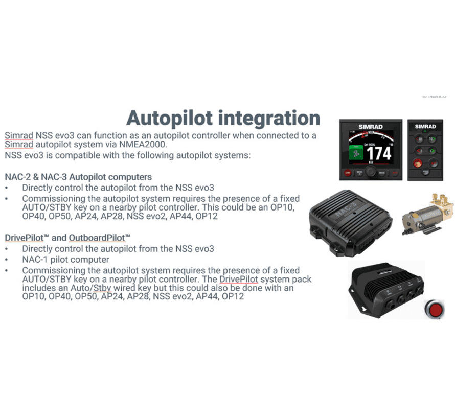 NSS9 evo3 display met GPS, sounder en Wi-Fi