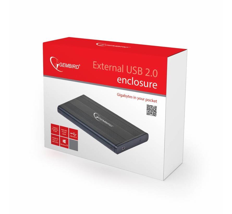 """2.5"""" SATA behuizing USB 2.0"""
