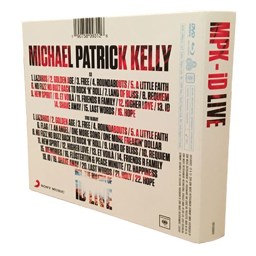 Michael Patrick Kelly - iD Live (Digipak mit CD, DVD & Blu-ray)