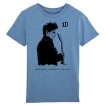 "Stanley Mini Creator Kinder T-Shirt Kids Shirt ""iD"" blue made of organic cotton"