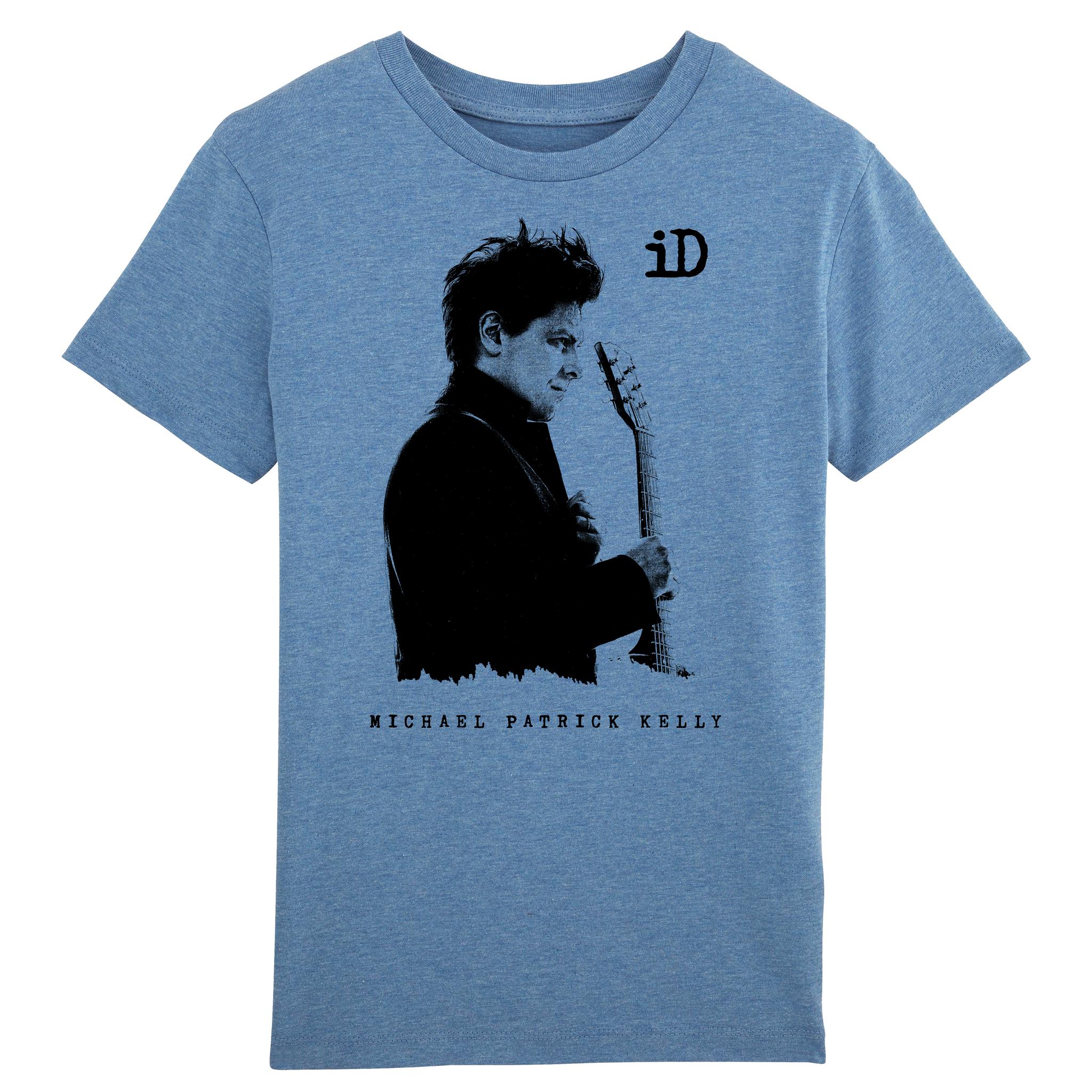 "Stanley Mini Creator Kinder T-Shirt Kinder Shirt ""iD"" blau aus Biobaumwolle"