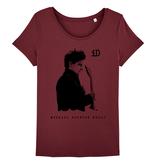 """Stella Wants Damen T-Shirt """"iD"""" burgund aus Bio-Baumwolle"""