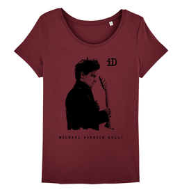 "Stella Wants Women's T-Shirt ""iD"" burgundy"