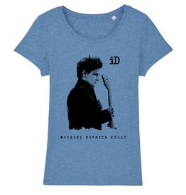 "Stella Lover Damen T-Shirt ""iD"" blau"