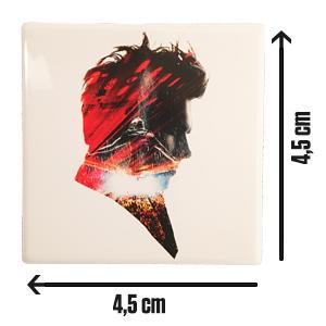 """Weißer Magnet mit """"Live"""" Logo 2019"""
