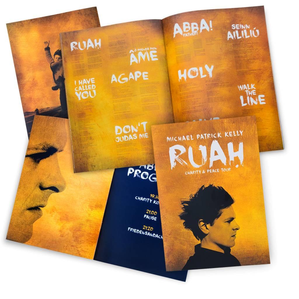 RUAH Programmheft