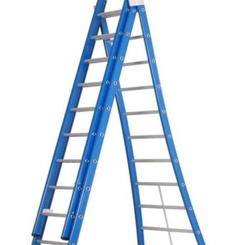 Driedelige ladders | Gratis verzending
