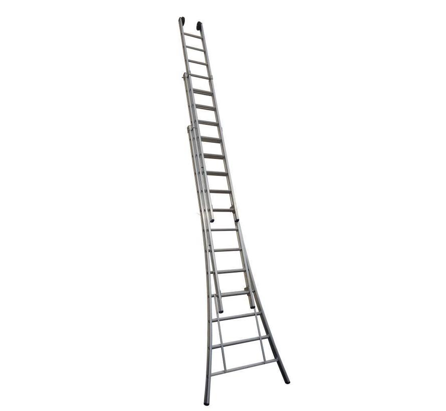 Driedelige ladder 3x14 Maxall
