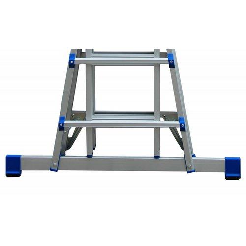Multifunctionele vouwladder 4x4