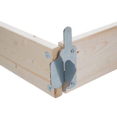 Euroscaffold Kantplankset hout 150x75 cm