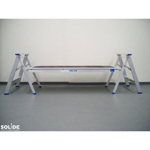 Solide Schraag aluminium 200kg max per stuk