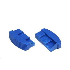 Solide Solide Dop / Laddervoet 90x20 mm 2 stuks 1x Links 1x rechts