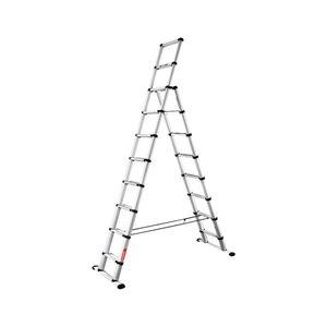 Telesteps Telesteps Black Line Combi ladder dubbel recht 1x8 sporten