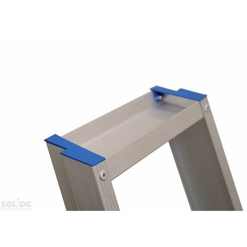 Solide Bordestrap Type PTC enkel 1x6 treden inclusief platform