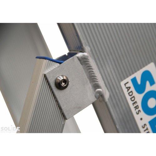 Solide Bordestrap Type PT enkel 1x4 treden inclusief platform
